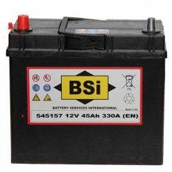 Akumuliatorius BSI 45 Ah 330 A EN 12V