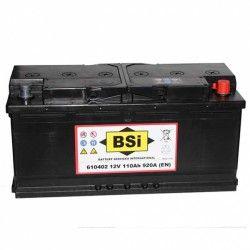 Akumuliatorius BSI 110 Ah 920 A EN 12V