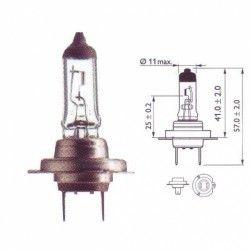 Lemputė PHILIPS  55W 12V PX26d H7 PREMIUM+30% BLISTERIS