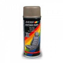 "Odos dažai smėlio spalvos-pilki ""Leather Spray Beige/Grey"" 200ml MOTIP"
