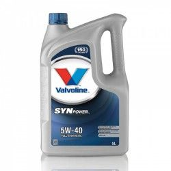 Alyva Synpower VALVOLINE 5W/40 Sintetinė Varikliams 5 l