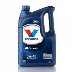 Alyva All Climate Diesel C3 VALVOLINE 5W/40 Sintetinė Varikliams 5 l