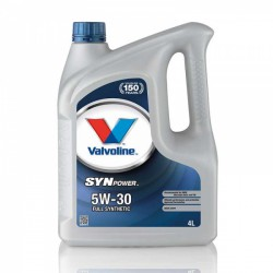 Alyva Synpower VALVOLINE 5W/30 Sintetinė Varikliams 4 l