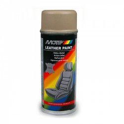 "Odos dažai smėlio spalvos-rudi ""Leather Spray Beige/Brown"" 200ml MOTIP"