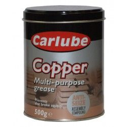Tepalas CARLUBE M.P.Grease Copper 500g CARLUBE