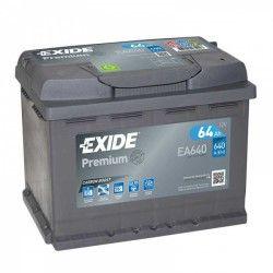 Akumuliatorius EXIDE 64 Ah 640 A EN 12V