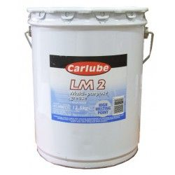 Tepalas CARLUBE Lithium LM2 grease 12.5kg CARLUBE  Plastinė