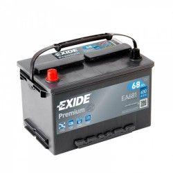 Akumuliatorius EXIDE 68 Ah 650 A EN 12V