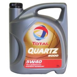 Alyva Quartz 9000 TOTAL 5W/40 Sintetinė Varikliams 5 l