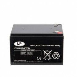 Akumuliatorius 153.6Wh/ VRLA 12 Ah 12.8V