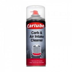 """Karbiuratoriaus valiklis """"Carb/Air Intake Clnr""""400ml CARLUBE"""