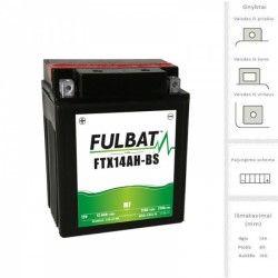 Akumuliatorius FULBAT  12 Ah 210 A EN 12V