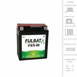 Akumuliatorius FULBAT  6 Ah 85 A EN 12V