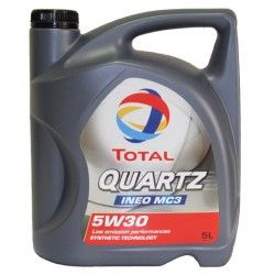 Alyva Quartz Ineo MC3/MDC TOTAL 5W/30 Sintetinė Varikliams 5 l