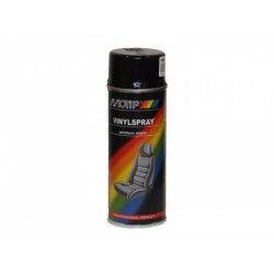 Viniliniai dažai juodi 400ml MOTIP
