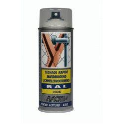 Akriliniai dažai RAL7035 400ml MOTIP