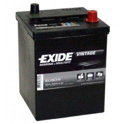 Akumuliatorius EXIDE 80 Ah 600 A EN 6V