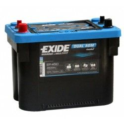 Akumuliatorius EXIDE 50 Ah 750 A EN 12V AGM