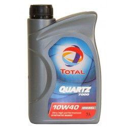 Alyva Quartz Diesel 7000 TOTAL 10W/40 Pusiau sintetinė Varikliams 1 l