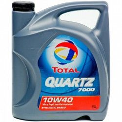 Alyva Quartz Diesel 7000 TOTAL 10W/40 Pusiau sintetinė Varikliams 5 l