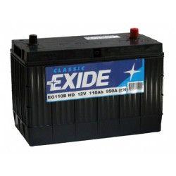 Akumuliatorius EXIDE 110 Ah 950 A EN 12V