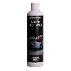 "Blizgiklis su vašku ""Super fast wax"" 500ml MOTIP"