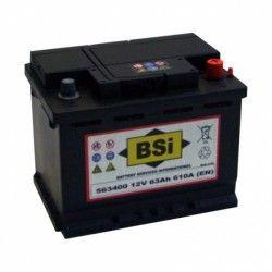 Akumuliatorius BSI 63Ah 610A EN 12V