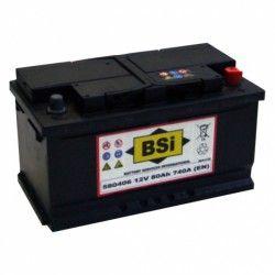 Akumuliatorius BSI 80 Ah 740 A EN 12V