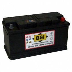 Akumuliatorius BSI 100 Ah 830 A EN 12V