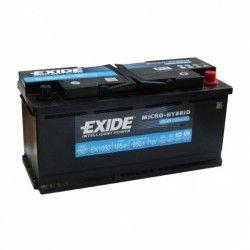 Akumuliatorius EXIDE 105 Ah 950 A EN 12V AGM