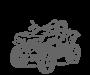 Akumuliatoriai keturračiams (ATV)