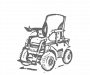 Akumuliatoriai neįgaliųjų vežimėliams