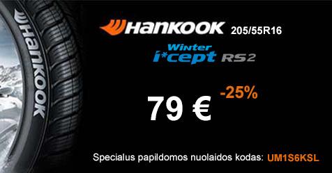 Specialus Hankook pasiūlymas