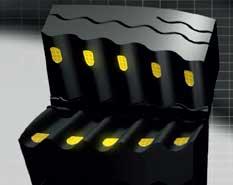 Goodyear UltraGrip Performance SUV protektoriaus dizainas