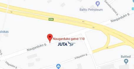 Naujas Vilniaus filialo adresas