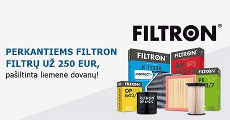 Filtron dovanos!