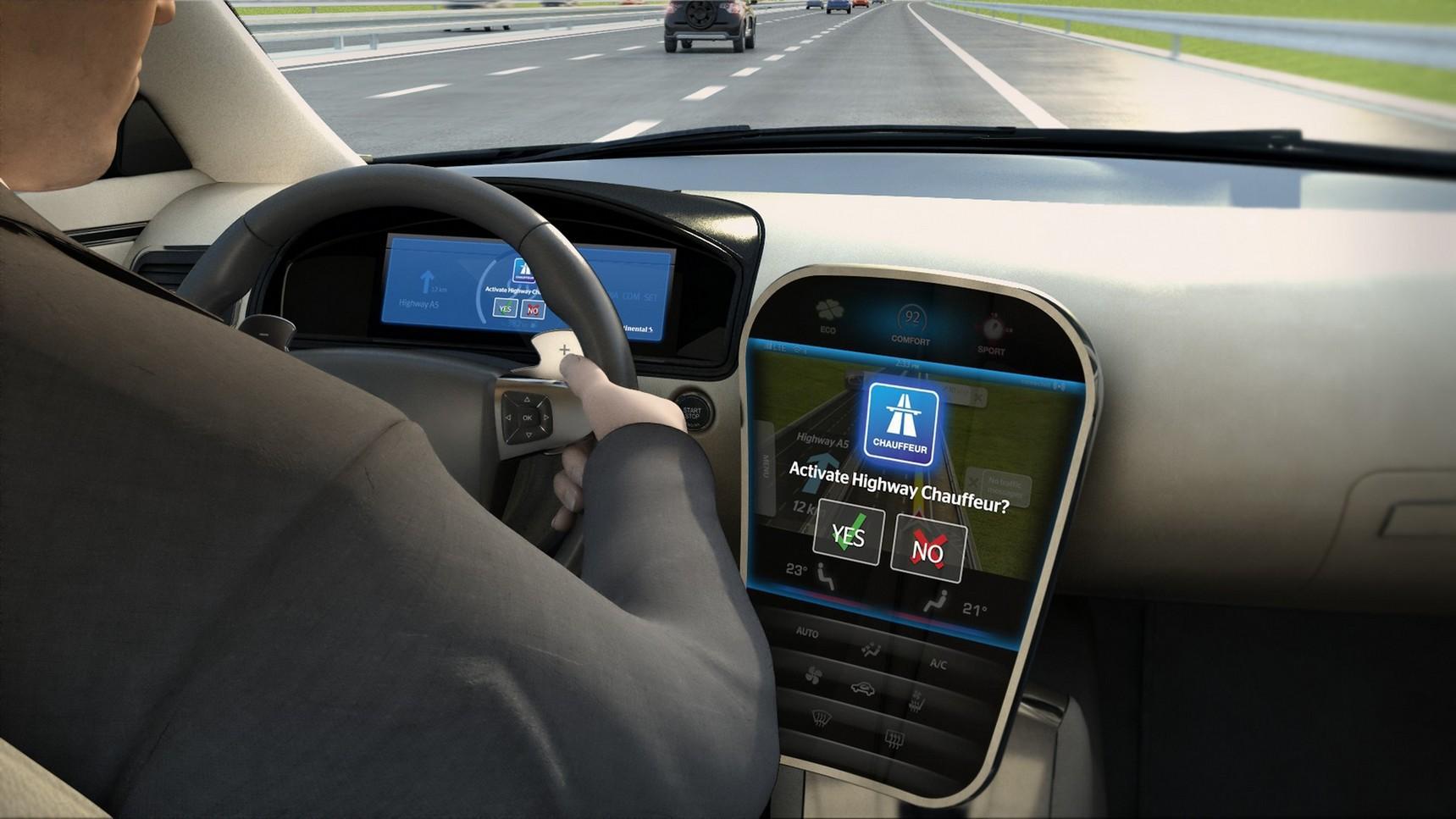 """""""Continental"""" Frankfurto parodoje pristatė gamybai parengtus autonominio vairavimo sprendimus"""