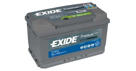EXIDE EA852 vėl turime prekyboje!