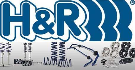 H&R pakabos detalės jau mūsų asortimente!