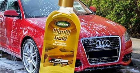 TRIPLEWAX LIQUID GOLD – savaime išdžiūstantis šampūnas!