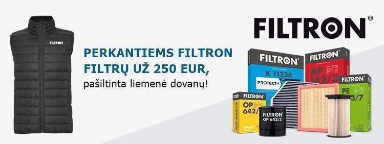 FIltron akcija - liemenė dovanų!
