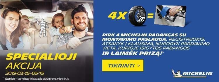 Michelin specialioji akcija 2019!