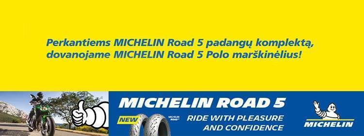 Specialus pasiūlymas perkantiems Michelin Road 5