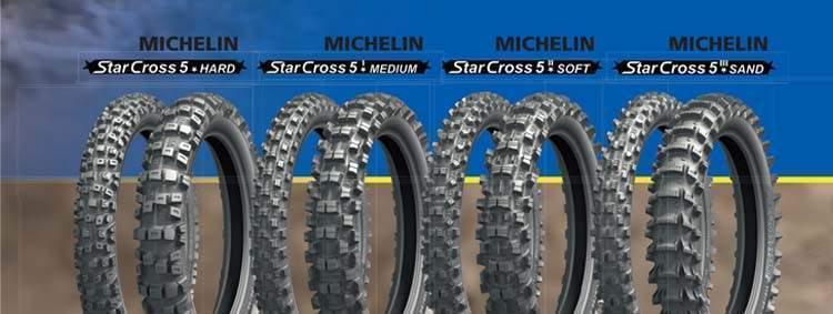 Michelin StarCross 5 naujiena