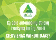 AGIA Automobilių atliekų tvarkymas